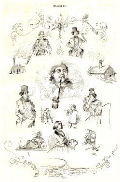 D1835-1, 1848 LIZ, Nr 238, S 64, Raucher scan