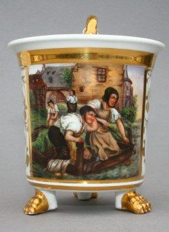 """Adolf Schroedter (1805-1875)""""Die trauernden Lohgerber"""