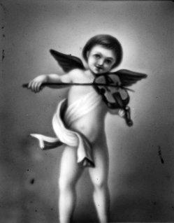 HPF 30 - Geige spielender Engel