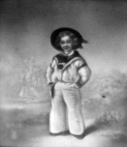 HPM 2 - Albert Edward, Prince of Wales, nach Winterhalter  Porzellanfabrik Carl Heyroth & Co, Magdeburg-Sudenburg  Lihophanie 1844-1850, nach dem Gemälde Albert Edward, Prince of Wales von Franz Xaver Winterhalter (1805-1873), 8,9 x 7,6 cm Nachweis: Court