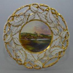 Buckauer Porzellanmanufaktur, Kuchenkorb um 1852, D0731-190-00