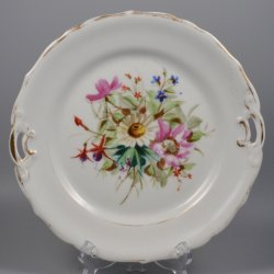 Buckauer Porzellanmanufaktur, Kuchenschale um 1872, D0459-005-00