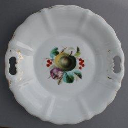 Buckauer Porzellanmanufaktur, Kuchenschale um 1878, D0670-011-00