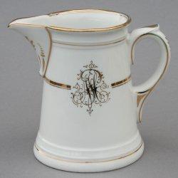Buckauer Porzellanmanufaktur, Milchkännchen um 1900, D0707-1152-23