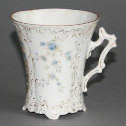 Buckauer Porzellanmanufaktur, Tasse und Untertasse, um 1897, D0557-071-14