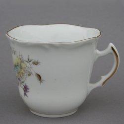 Buckauer Porzellanmanufaktur, Tasse und Untertasse um 1897, D0760-200-21