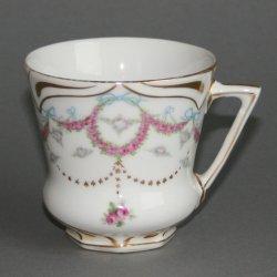 Buckauer Porzellanmanufaktur, Tasse und Untertasse um 1904, D0536-074-18