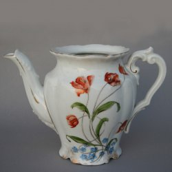 Buckauer Porzellanmanufaktur, Teekanne, um 1900, D0794-073-22