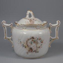 Buckauer Porzellanmanufaktur, Zuckerdose, 1890-1897, D0663-050-13