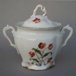 Buckauer Porzellanmanufaktur, Zuckerdose, um 1900, D0796-055-22