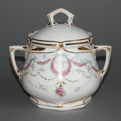 Buckauer Porzellanmanufaktur, Zuckerdose um 1904, D0541-081-18