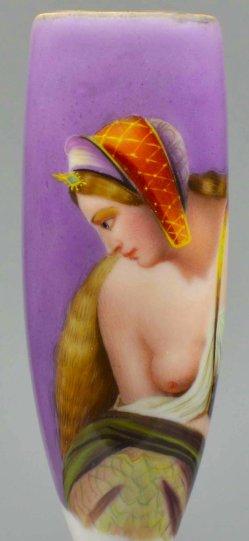 Carl Joseph Begas (1794-1854), Die Lureley, Porzellanmalerei, Pfeifenkopf, D2036
