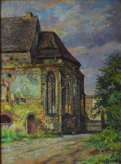 Karl Friedrich (1898-1989), Magdeburg Heiliggeistkirche 1959, D0633