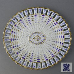Buckauer Porzellanmanufaktur, Durchbruchschale um 1845, D0669-148-00