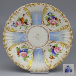 Buckauer Porzellanmanufaktur, Untertasse 1851, D0649-136-00-