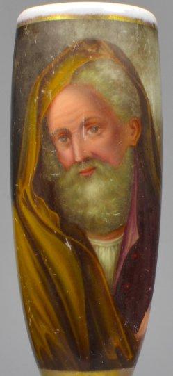 Daniel Nikolaus Chodowiecki (1726-1801), Oberbramin, Porzellanmalerei, Pfeifenkopf, D2041