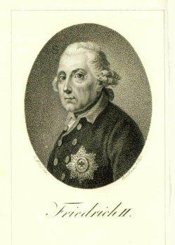 Ulrich Ludwig Friedrich Wolf (1776-1832), Friedrich II, für Kupferstich, A0084