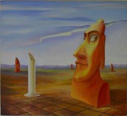 Waldemar Hofmann (geb.1961), Gemälde, Narkose, D0084