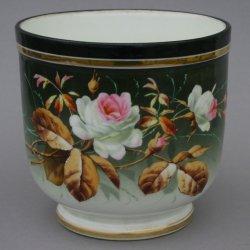 Buckauer Porzellanmanufaktur, Blumenübertopf um 1900, D0709-172-00