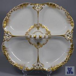 Buckauer Porzellanmanufaktur, Cabaret vierpassig um 1846, DD0698-162-00