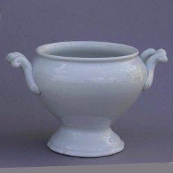 Buckauer Porzellanmanufaktur, kleine Terrine ohne Deckel, 1890-1914, D0804-037-40