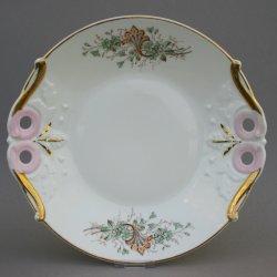 Buckauer Porzellanmanufaktur, Kuchenschale um 1885, D0798-017-07