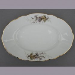 Buckauer Porzellanmanufaktur, ovale Platten,  1890-1926, D0776-036-24