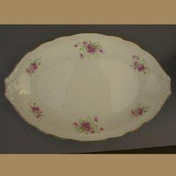 Buckauer Porzellanmanufaktur, ovale Schale um 1895, D0785-216-26