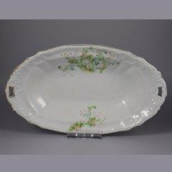 Buckauer Porzellanmanufaktur, ovale Schale um 1897, D0730-185-25