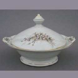 Buckauer Porzellanmanufaktur, Schüssel mit Deckel 1890-1926, D0775-066-24