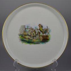 Buckauer Porzellanmanufaktur, Tablett für Eierset um 1900, D0918-257-37