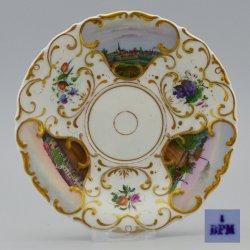 Buckauer Porzellanmanufaktur, Untertasse um 1840, D0741-194-00