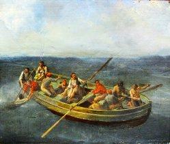 Johannes Hermanus Koekkoek (1778-1851), Die Schiffbrüchigen 1835, D2066