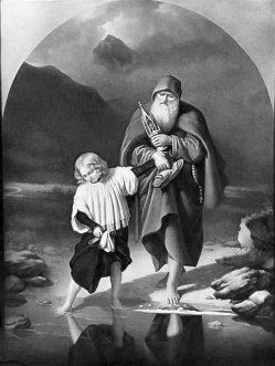 KPM 263 Der Messner und der Chorknabe, nach Daege