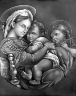 PPM 15 – Madonna della Sedia nach Raffael