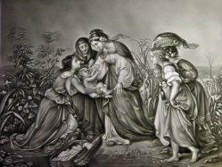 PPM 492 – Die Findung Moses, nach C. Kohler