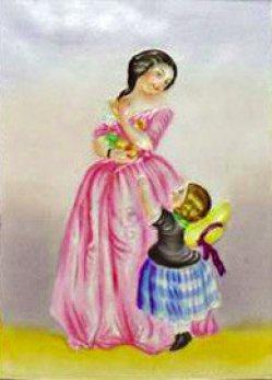 PPM 593 – Die kleine Eva, koloriert