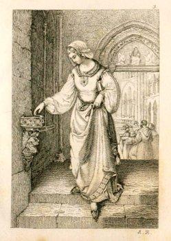 Auguste Hüssener (1789-1877), Das Weihwasser