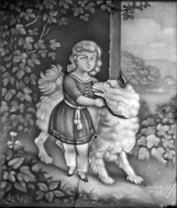 BPM 502 – Kind mit großem Hund an der Seite