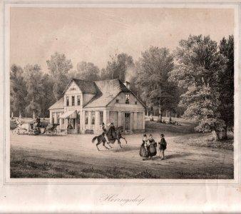 Heringsdorf, Das alte Dinse´sche Haus in der Wilhelmstraße, D0163-1