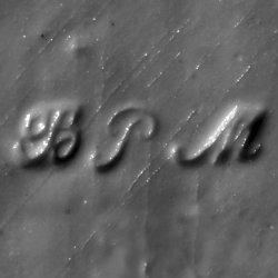 Porzellanmarke BPM (1850-1853), Lithophanie, Lithophane