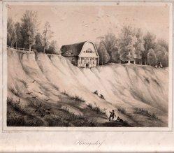 Henning, J., Heringsdorf, Villa Schering alter Zeit, Lithographie nach W.v.Schack, D0163-8