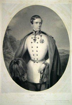 Franz Joseph, Stahlstich