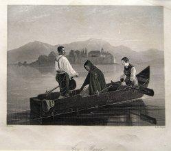 "Albert Henry Payne (1812-1902), Stahlstich ""Ave Maria"" nach Ruben, D1541"