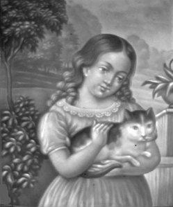 HPF 295 - Kind mit Katze