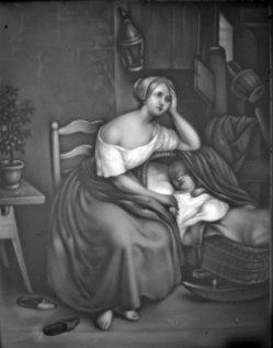 HPM 7 - Die verlassene Mutter nach Wappers