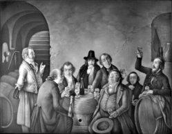 HPM 90 - Weinprober im Keller, nach Hasenclever