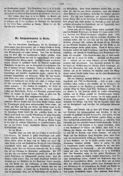 Berlin, Königskollonaden um 1880, Kommentar