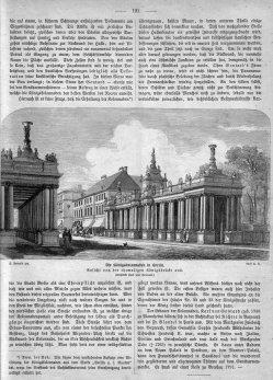 Berlin, Königskollonaden um 1880, Kommentar 2