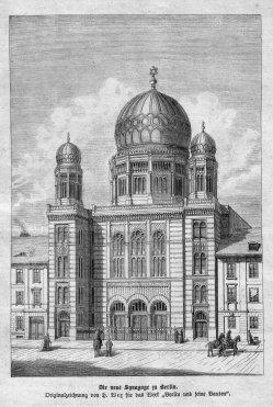 Berlin, Neue Synagoge 1864, A0139
